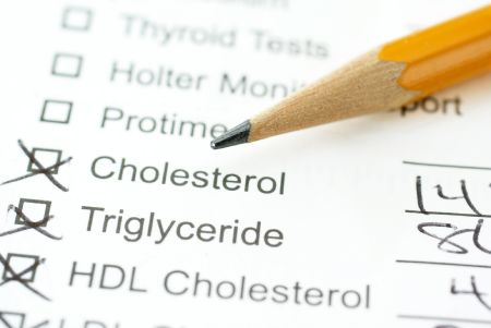 Clipboard Holding Information of Cholesterol