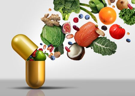 Vitamin Supplements From Food Packed in Pill